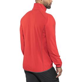 Bergans Lovund Fleece Jacket Men fire red/solid dark grey